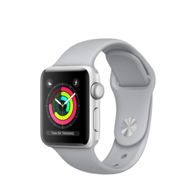 Apple Watch Series 3 42mm GPS Prateado Alumínio