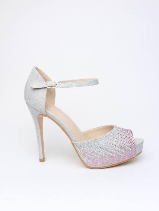 Sandálias c/ Brilhantes