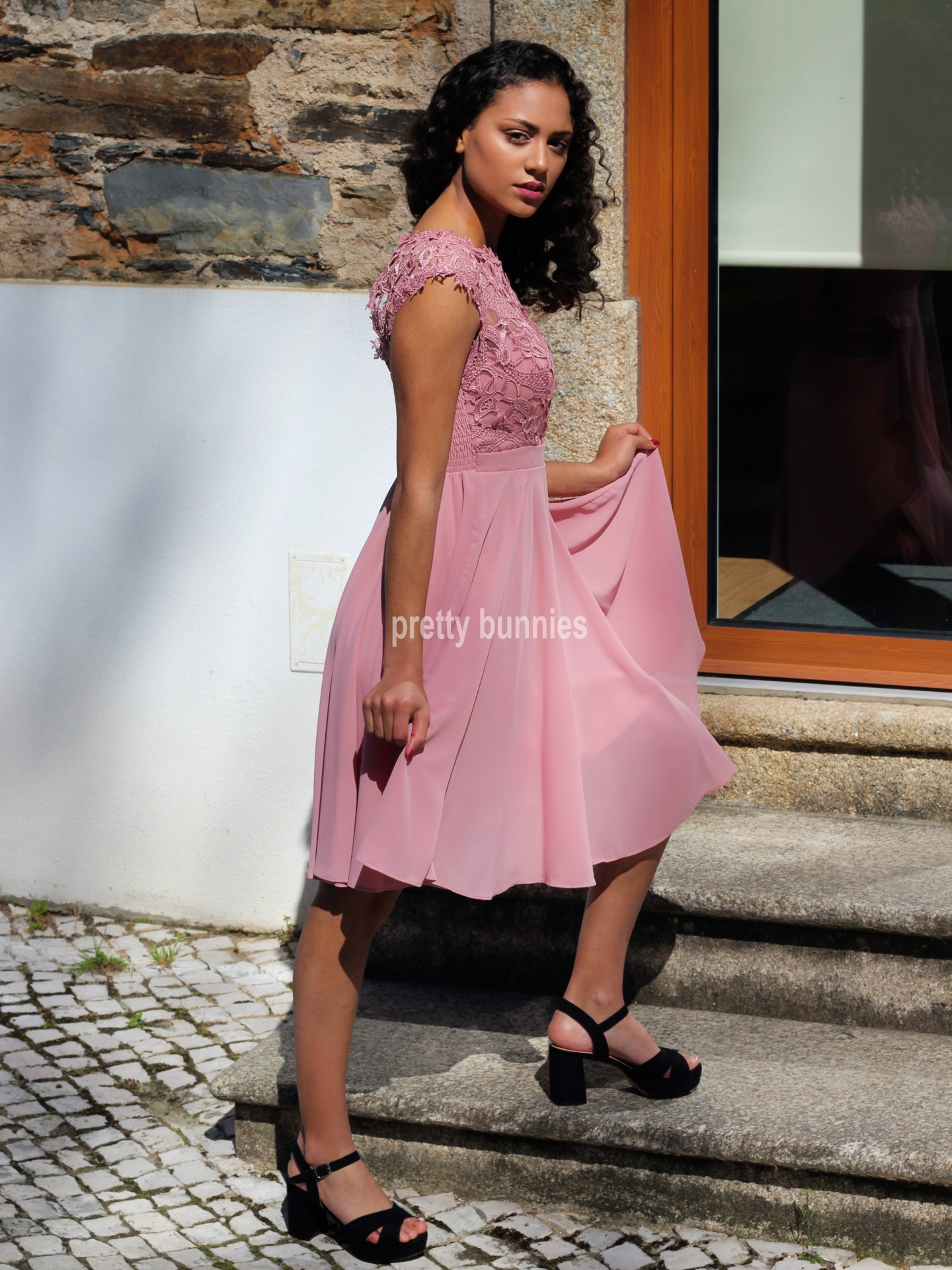 Vestido Angélica Curto TG