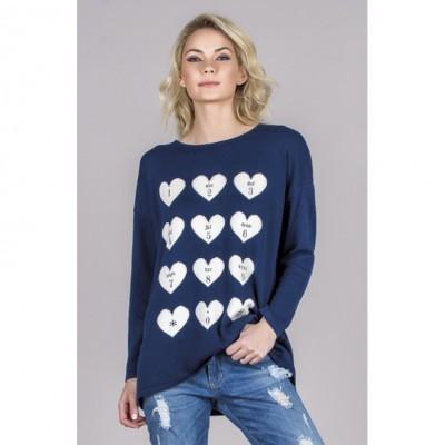 Camisola Ruga Corações