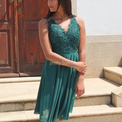 Vestido Denise Curto