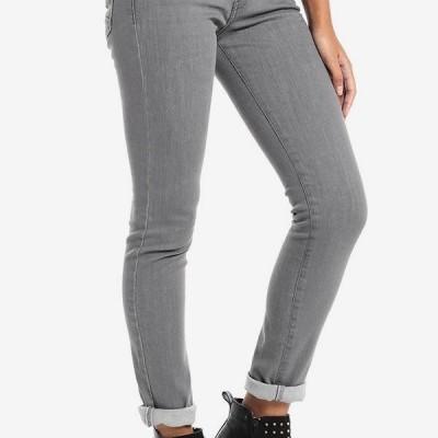 820d6200b Promoção Calça Sra Cinza Lois jeans