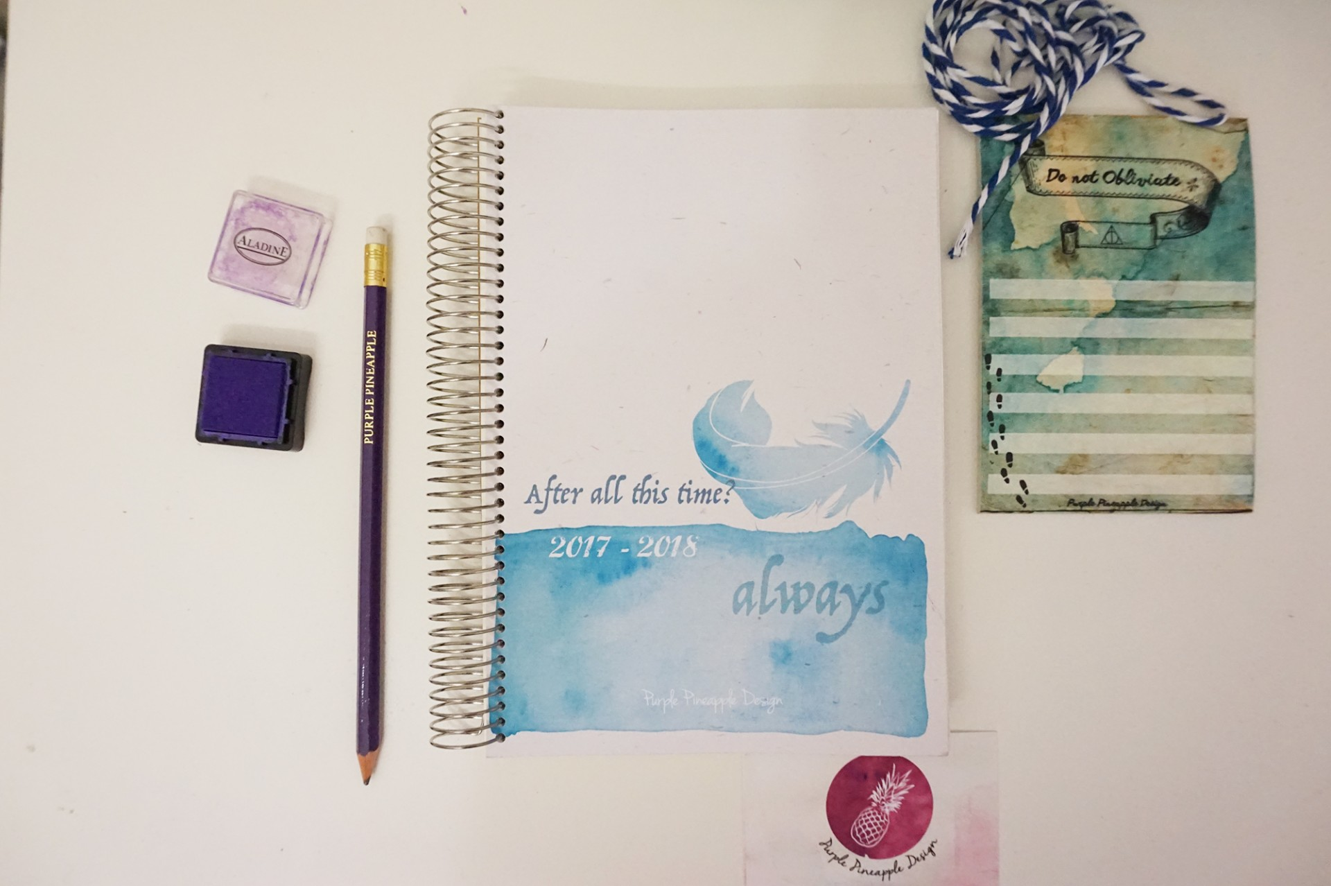 Potterhead • Agenda escolar/2018