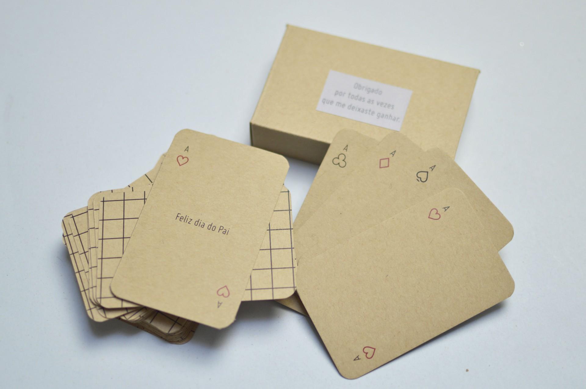 Dia do Pai - Baralho de cartas