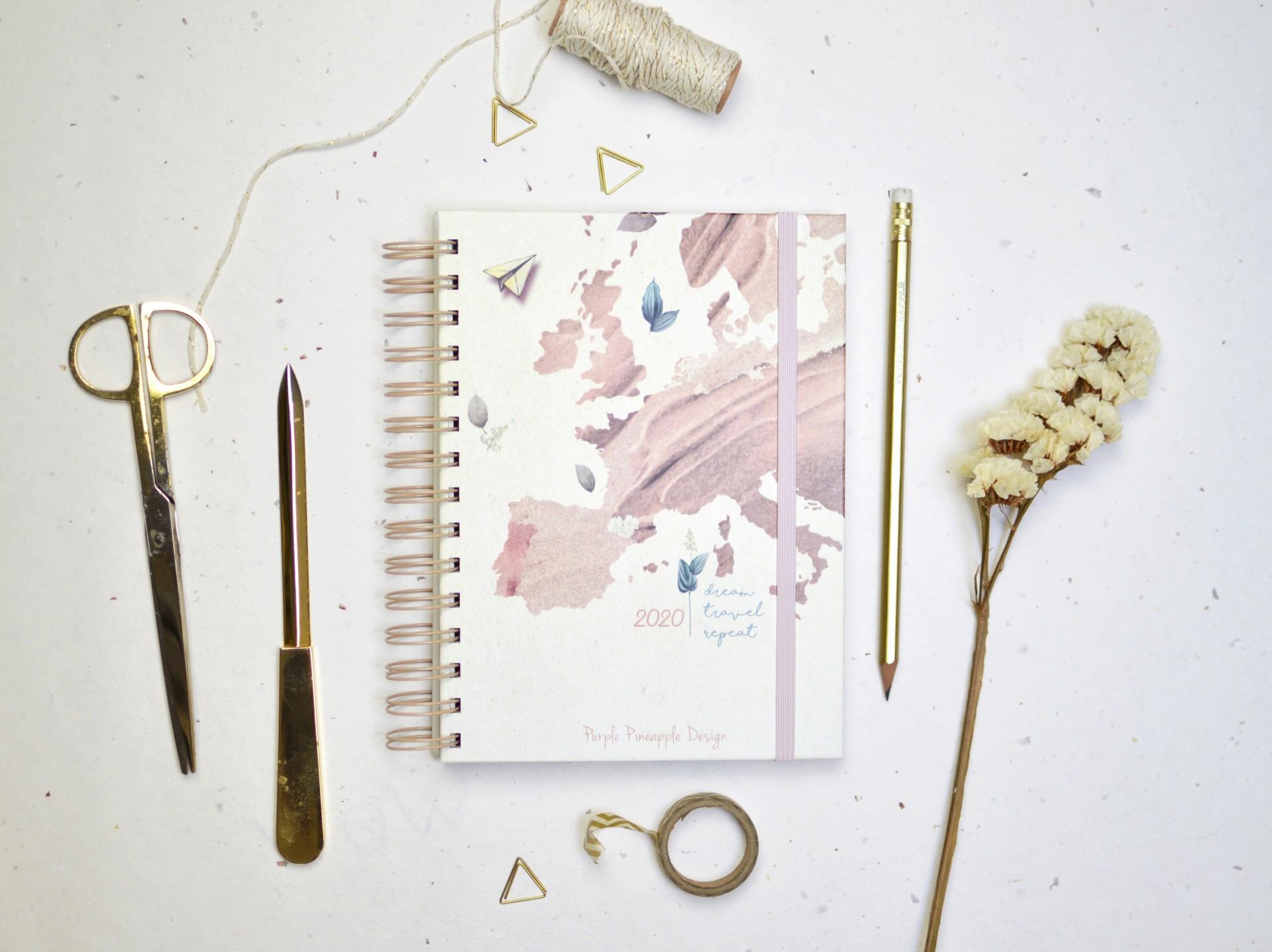 Agenda Dream • Travel • Repeat  - A6
