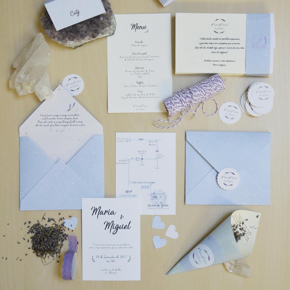 Pale Blue Wedding