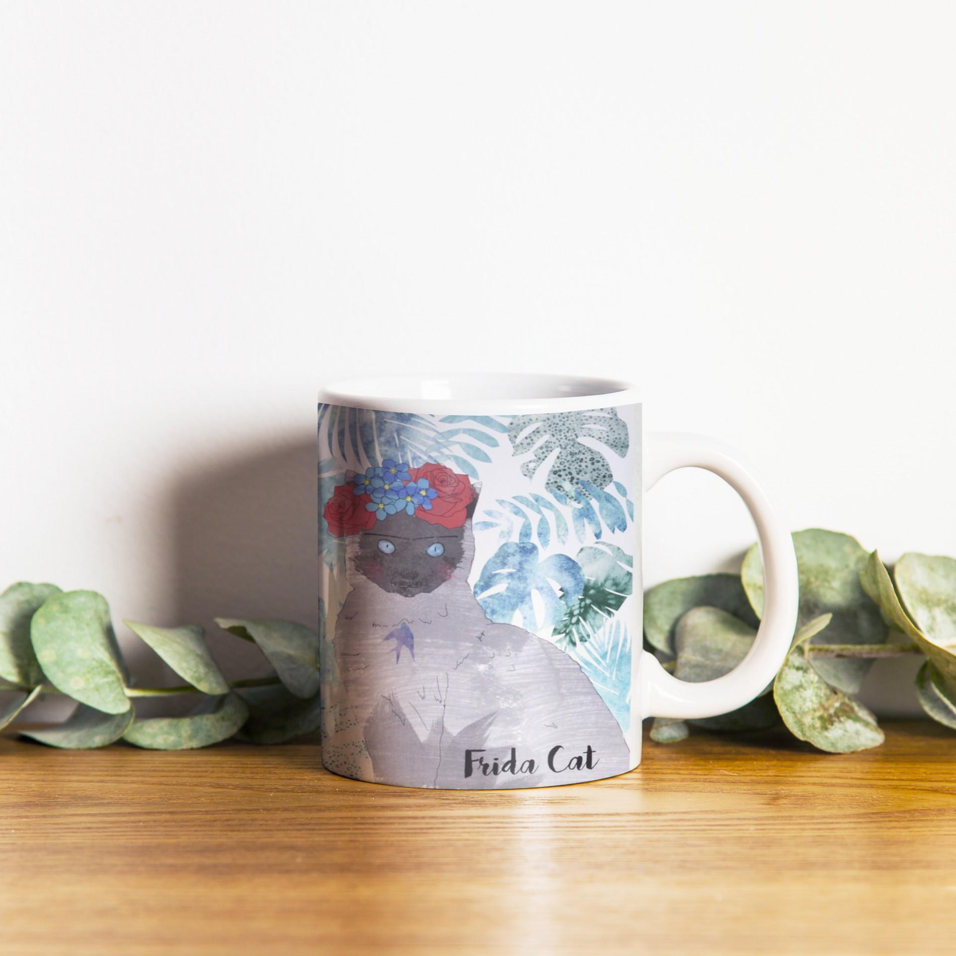 Caneca Frida Cat