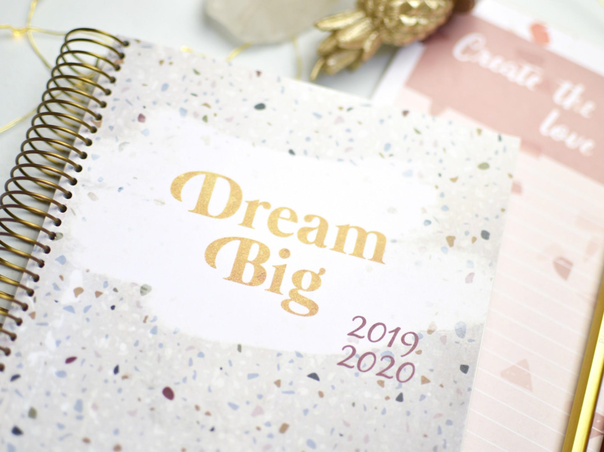 Agenda Dream Big Terrazzo  - A6