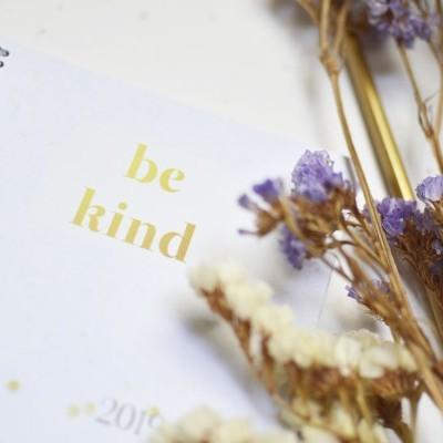 Agenda Be Kind - A6