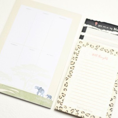 Safari Vibes Notepads