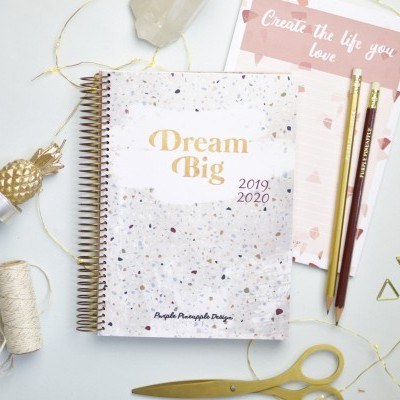 Agenda Dream Big Terrazzo
