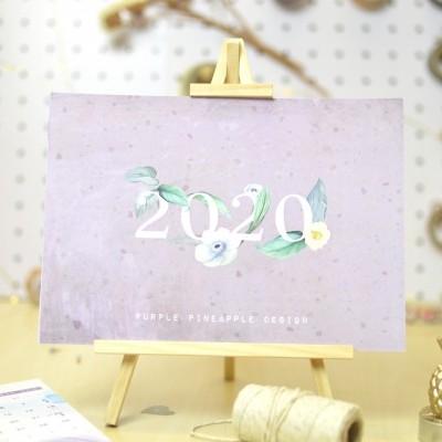 Calendário 2020 com Cavalete