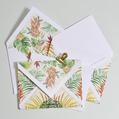Envelope Tropical América