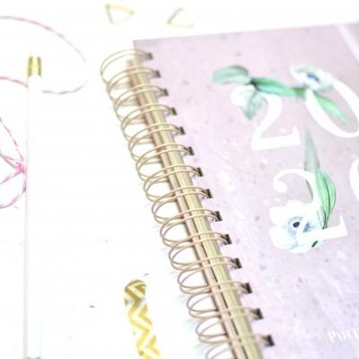 Agenda 20•20 Rosa - A6