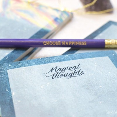 Magical Thoughts - Bloco de notas