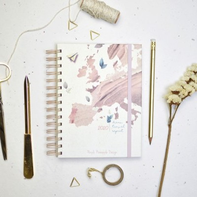 Agenda Dream • Travel • Repeat  - A6