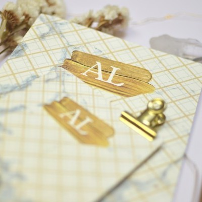 Agenda Marble Gold - A6
