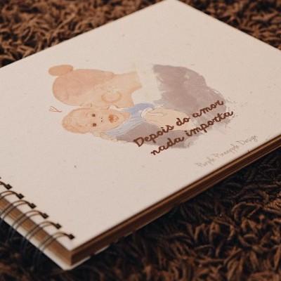 Álbum com ilustração Personalizada