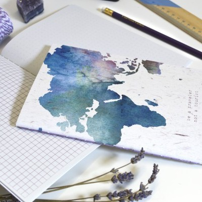 Map - Be a Traveler not a Turist