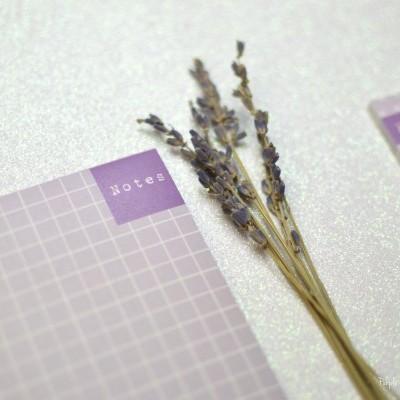 Notes Lilac - Bloco de notas
