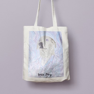 Tote Bag Van Dog