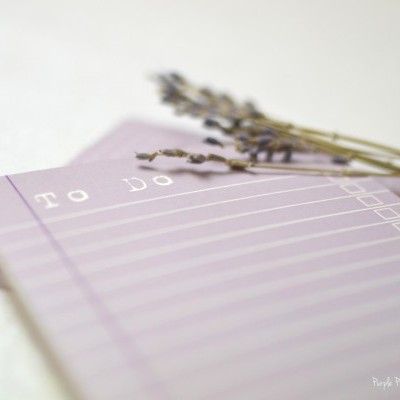 To do Lilac - Bloco de Notas