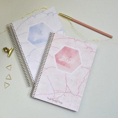 Agenda Pink & Blue