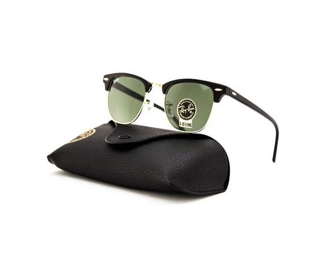 Óculos de Sol Rayban Clubmaster RB3016 W0365 Preto