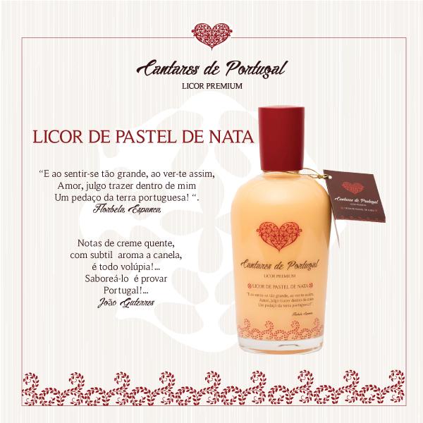 Licor de Pastel de Nata Premium