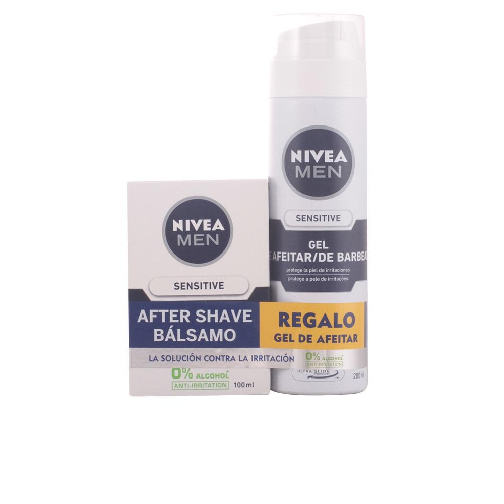 Coffret Nivea Men Sensitive Gel de barbear 200ml +  Bálsamo 100ml