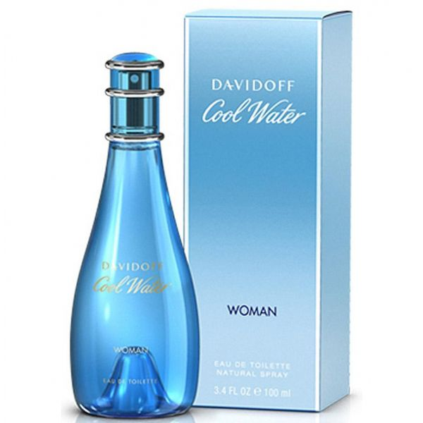 Cool Water Woman Eau de Toilette Vaporizador - 30ml, 50ml, 100ml