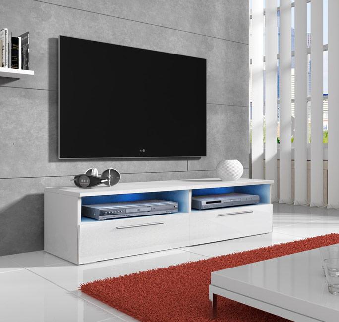 Móvel de TV Cal com LED - 2 cores