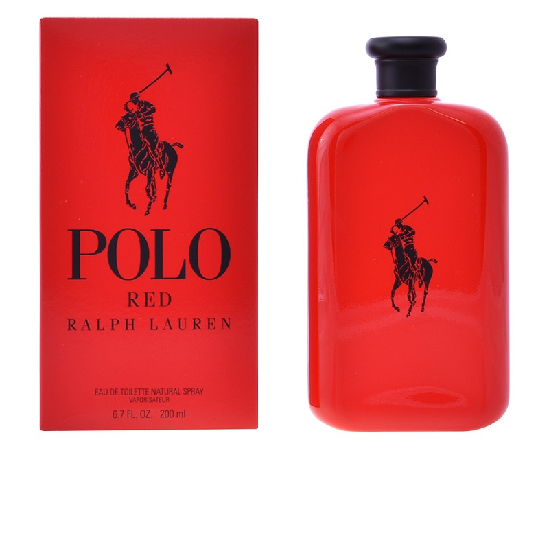 Polo Red edt 200ml - Ralph Lauren