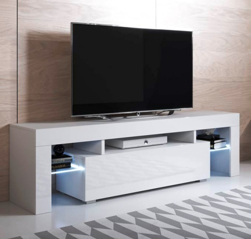 Móvel Tv Ur com luz led - Disponível em 2 cores