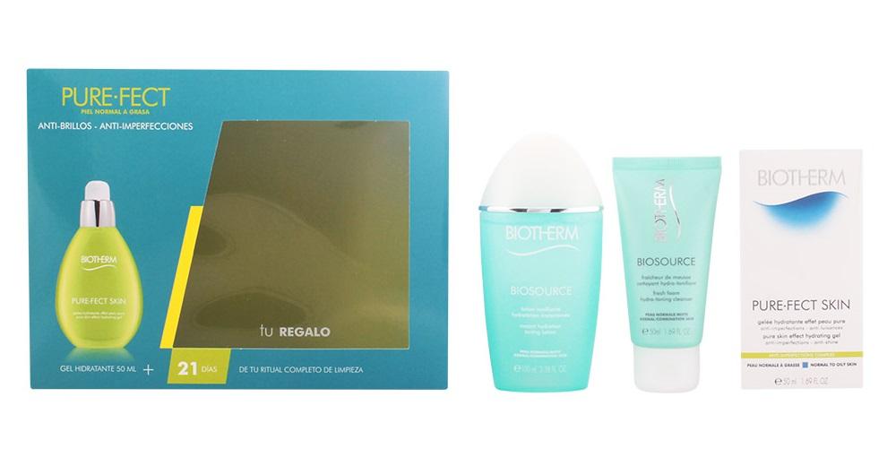 Coffret Biotherm AQUASOURCE Purefect (peles normais e mistas) - 3 Produtos
