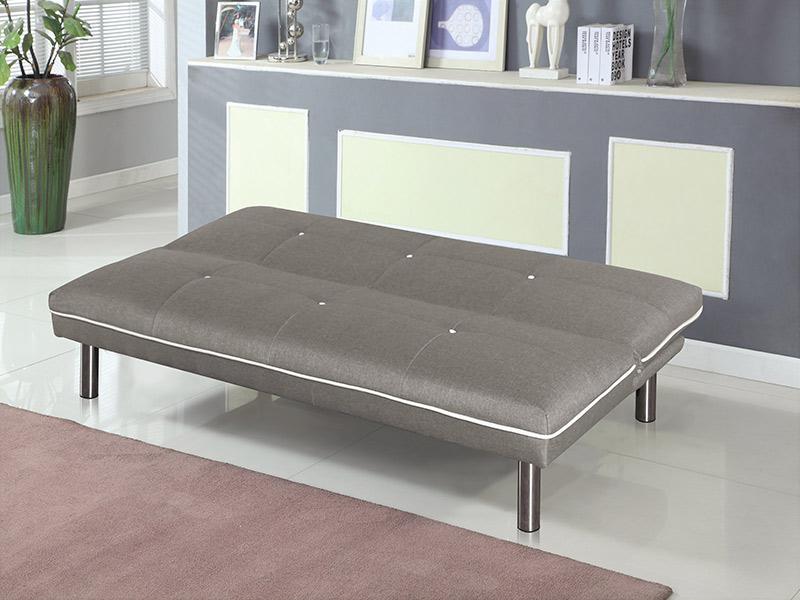 Sofá-Cama em tecido - disponível em 3 cores