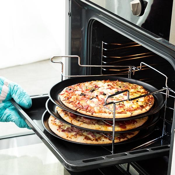 Bandeja de Pizzas Múltipla para Forno