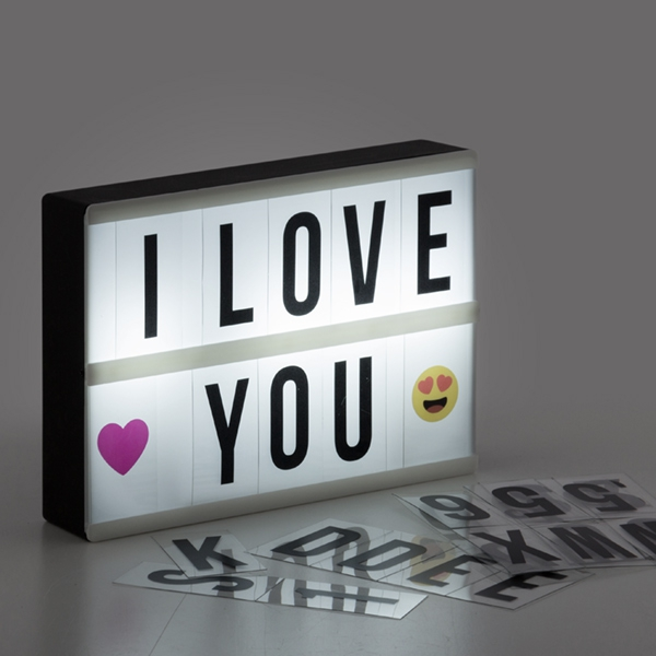 Message Light Box