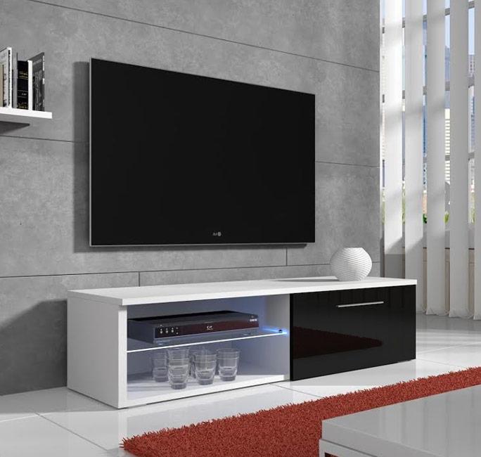 Móvel de TV Bor com LED - 2 cores
