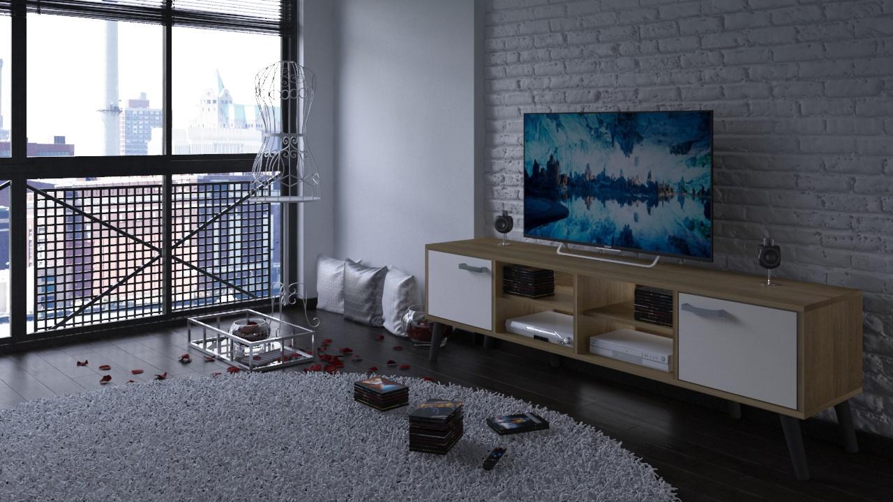 Móvel de Tv Vein - Disponível em 2 cores