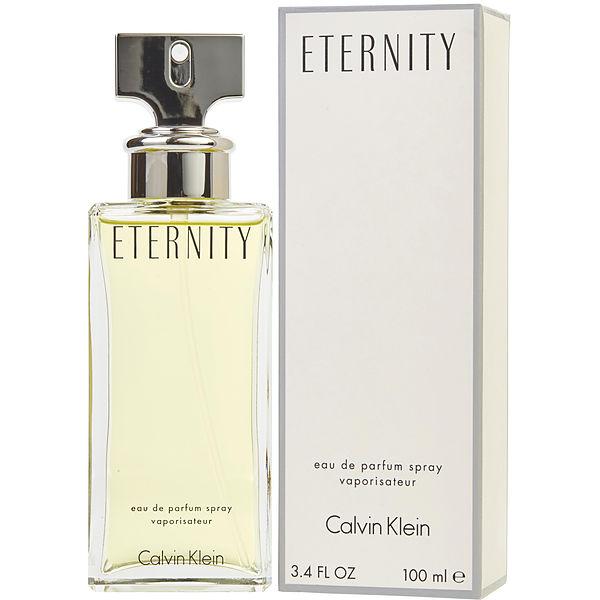 Eternity Eau de Parfum Vaporizador - 30ml, 50ml, 100ml