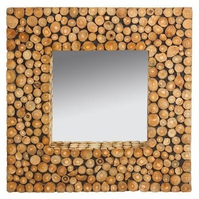 Espelho de Madeira Reciclada - 2 medidas disponíveis
