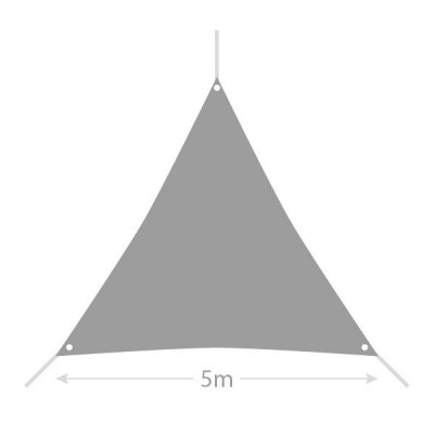 Toldo Vela Sombra triangular 5m