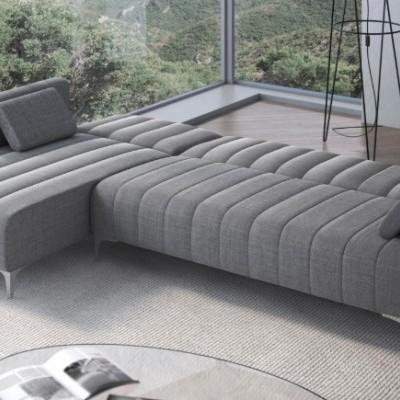 Sofá-Cama com Chaise - Disponível em 2 cores