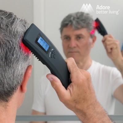 Escova Massajadora Anti-Queda com Laser