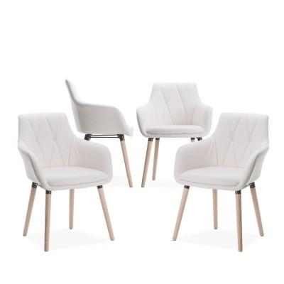 Pack de 2 Cadeiras de refeição - 2 cores disponíveis