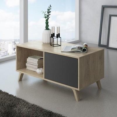 Mesa de Centro Estilo Nórdico - Disponível em 4 cores