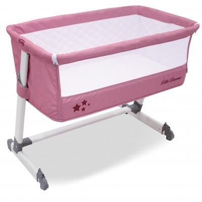 Berço Next to BED Little Dreamer asalvo + Oferta de roupa de cama