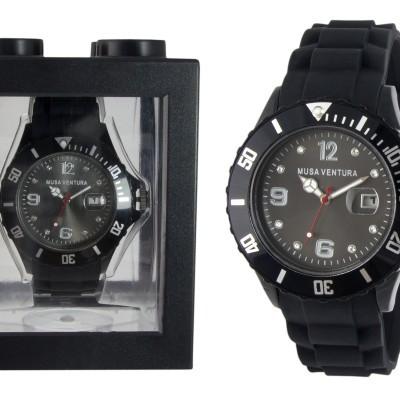 Relógios de Silicone com Elementos Swarovski®