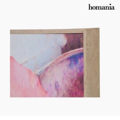 Quadro Folhas Pintura (104 x 4 x 144 cm)